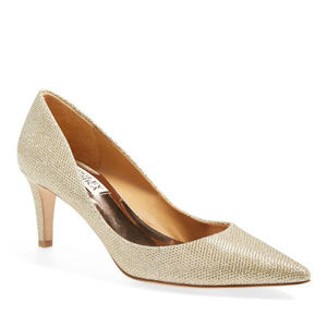 NWT Badgley Mischka Poise Platino Pump